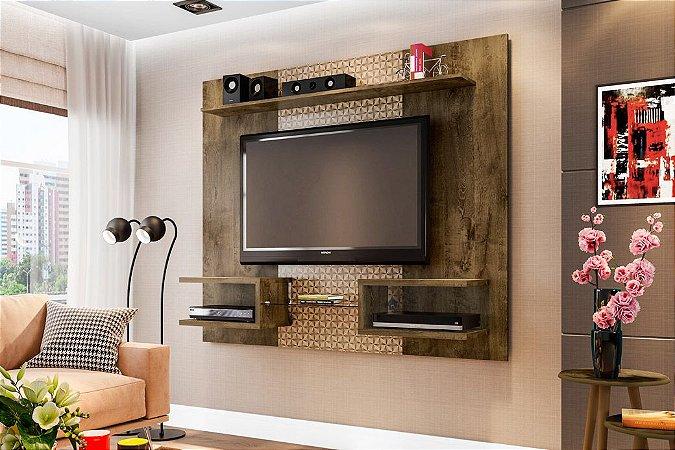 PAINEL ATLAS NICHOS PRAT TV 55 163X136 CAST/3D BECHARA
