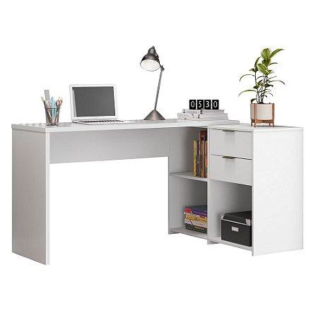 Mesa Office Top NT2060 Notável Branca 75x200x45