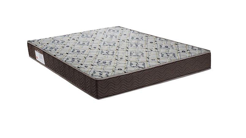 Colchão Ortobom ISO 150 Casal D45+EPS Bco/Marrom 138x188x18