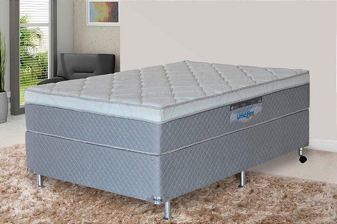 Cama Box Casal NewSleep Molas Ensacadas 138x188x72 cm Branco