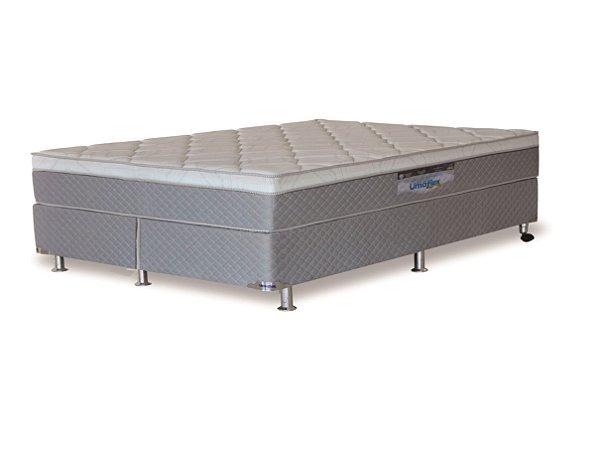Cama Box Queen Molas Ensacadas New Sleep Branco 72x158x198