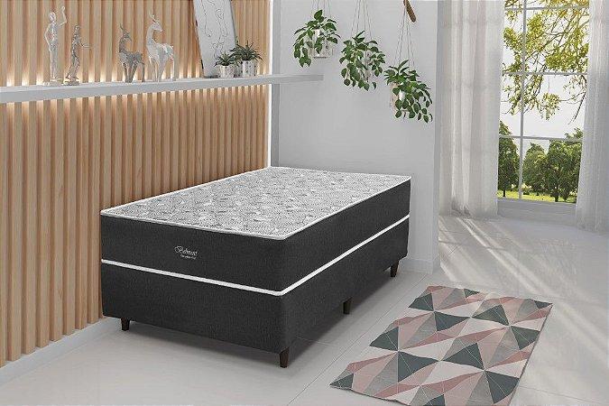 Cama Box Solteiro Espuma AG D65 Belmont Jacquard 68x88x188