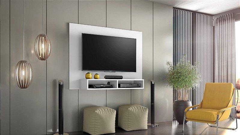 """Painel TV 43"""" Eros Notável Branco 120x89x28"""