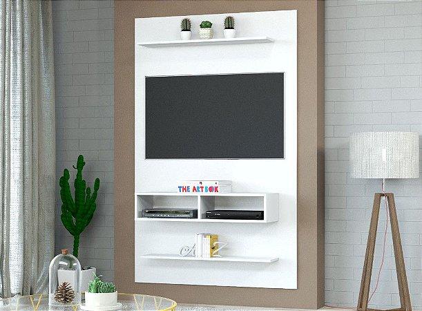 "Painel TV 43"" Byte 115x181x30 Branco Viero"