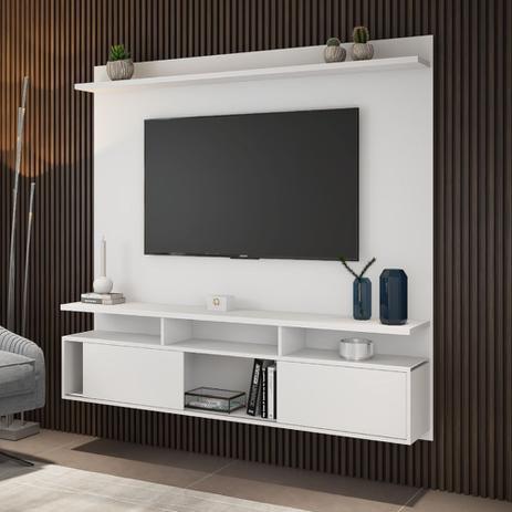"Home Supreme Viero Suporta TV até 55"" 180x165x32 cm Branco"