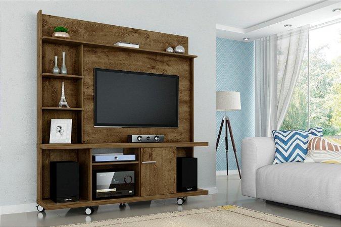 """Home Taurus para TV 47"""" 160x39x175  Castanho Bechara"""