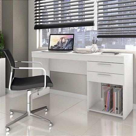 Escrivaninha Office 2 Gavetas Branco Notável