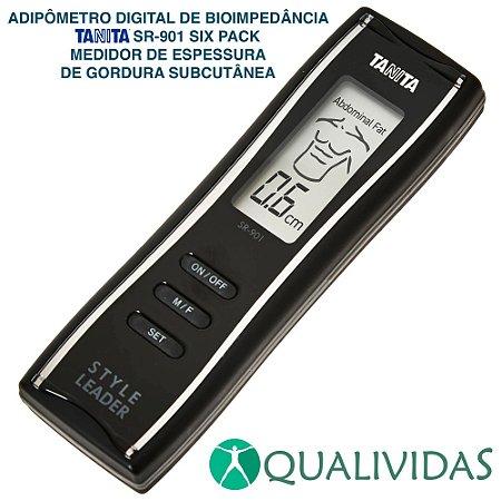 Adipômetro Digital de Bioimpedância Tanita SR-901 Six Pack