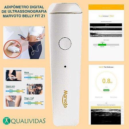 Adipômetro Digital de Ultrassom Marvoto Belly Fit Z1