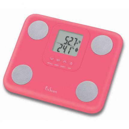 Balança de Bioimpedância Tanita BC-730F Pink Monitor de Composição Corporal