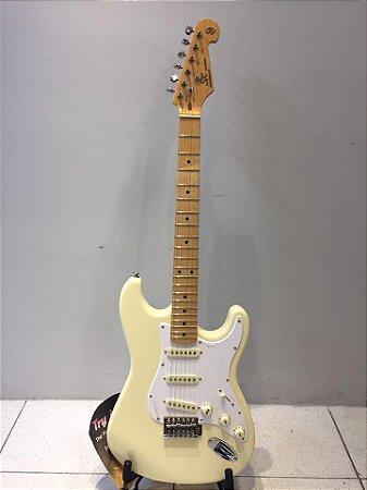 Guitarra Vintage Stratocaster Sx Sst 57 Branca