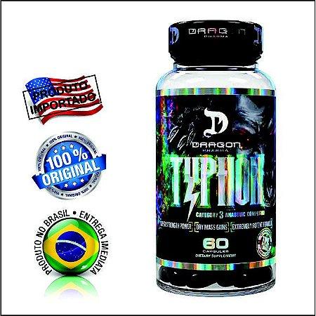 Typhon Ciclo Anabolico Dragon Pharma 60 Caps - Importado 100% Original