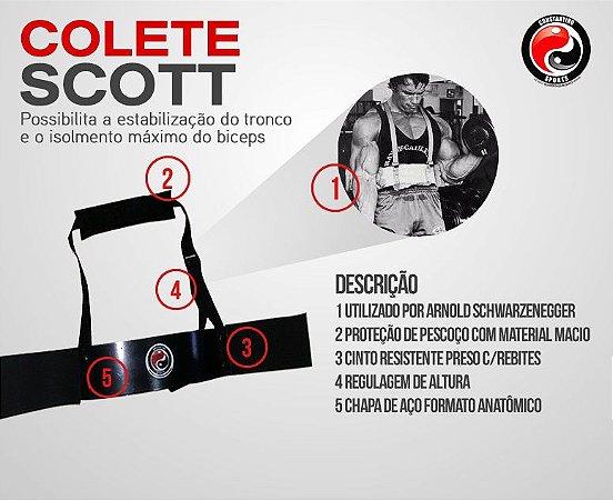 24 unidades - COLETE SCOTT - ARNOLD - ARM BLASTER