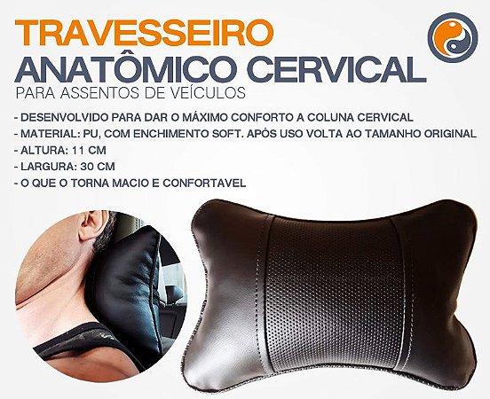 12 Almofadas Cervical Veicular, Carro Encosto Cabeça Descanso