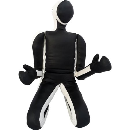Boneco sparing Constantino jiu jitsu couro