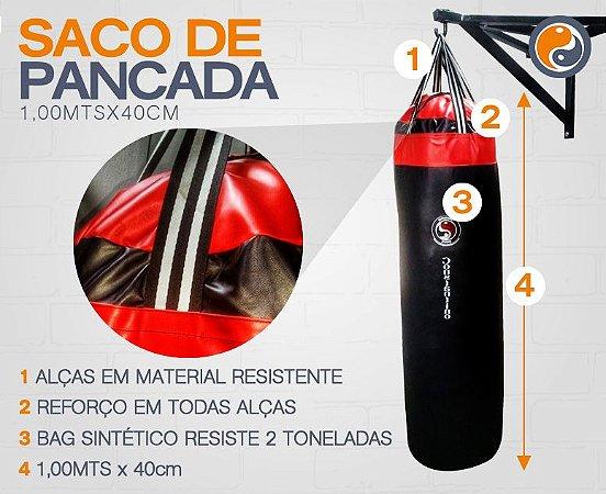 SACO DE PANCADA 1,00MTS X 40 CM