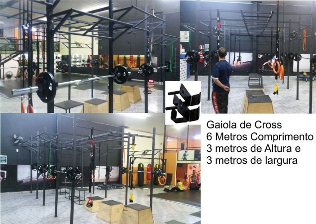 Gaiola Power Rack Crossfit