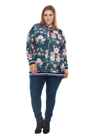 Bomber Maxi Floral