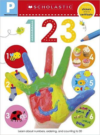 Pre-K Skills Workbook: 123