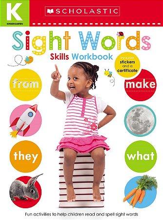 Kindergarten Skills Workbook: Sight Words