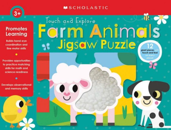 Scholastic Early Learners: Farm Animals Jigsaw Puzzle