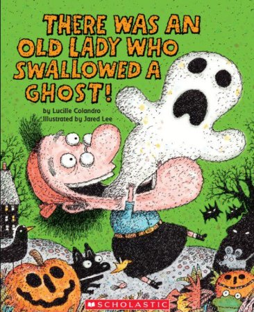 There was an old lady who swallowed some a ghost