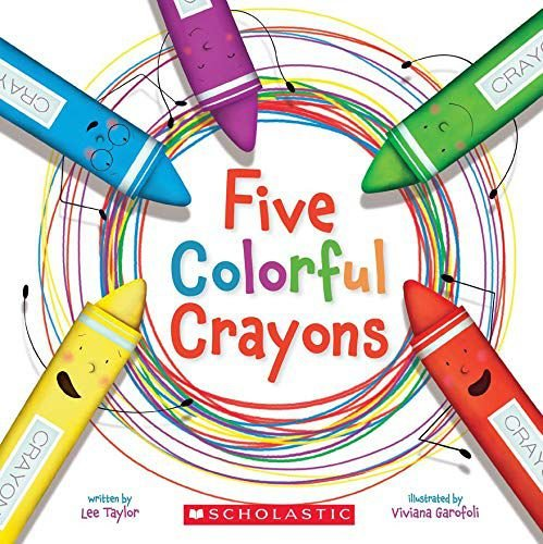 Five Colorful Crayons