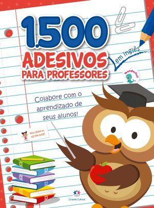 1500 adesivos - colabore com o aprendizado de seus alunos ingles