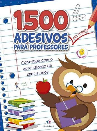 1500 ADESIVOS - CONTRIBUA COM O APRENDIZADO DE SEUS ALUNOS INGLES