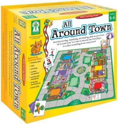 ALL AROUND TOWN BOARD GAME