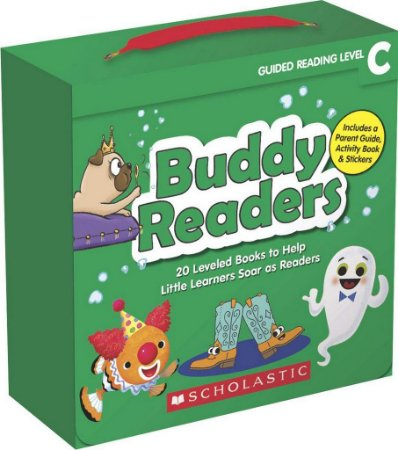 BUDDY READERS- LEVEL C - 20 LEVELED BOOKS FOR LITTLE LEARNERS