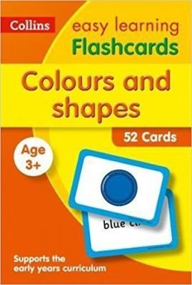 COLOURS AND SHAPES FLASH CARDS  -  COLLINS EASY LEARNING