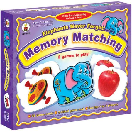 ELEPHANTS NEVER FORGET-MEMORY GAME- 3 GAMES TO PLAY