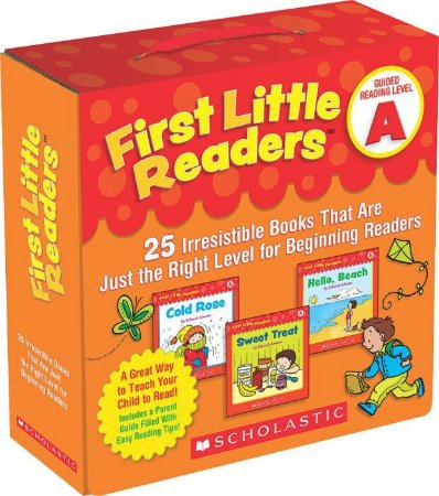 FIRST LITTLE READERS PACK- LEVEL A- 25 LEVELED BOOKS FOR LITTLE LEARNERS