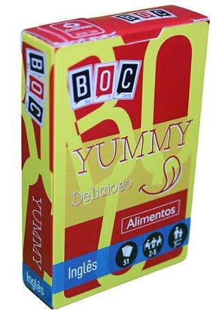 JOGO DE CARTAS- YUMMY