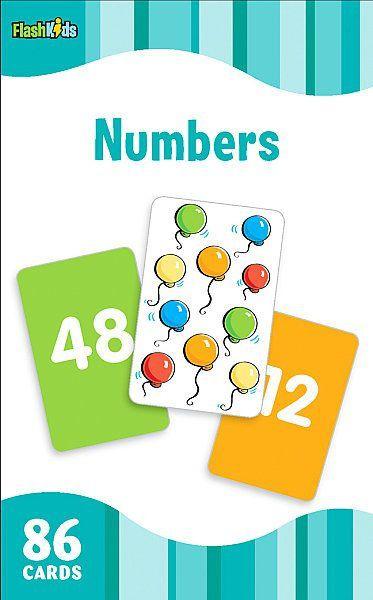 NUMBERS FLASHKIDS FLASHCARDS