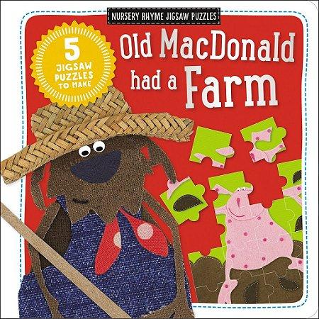OLD MACDONALD HAD A FARM - NURSERY RHYME JIGSAW PUZZLES