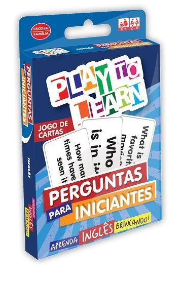 PERGUNTAS PARA INICIANTES- JOGO DE CARTAS