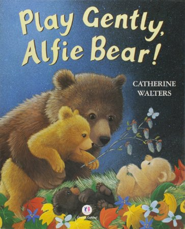 Play gently, Alfie Bear!