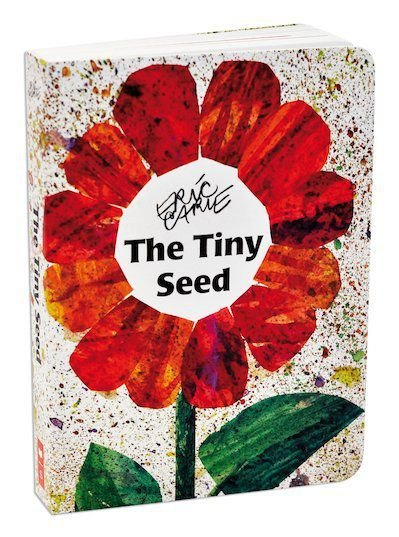 THE TINY SEED- ERIC CARLE BOARD BOOK