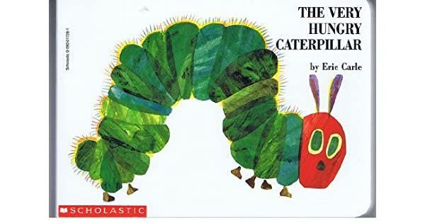 THE VERY HUNGRY CATERPILLAR- BOARD BOOK SCHOLASTIC
