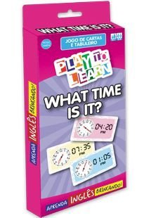 WHAT TIME IS IT - JOGO TABULEIRO HORAS