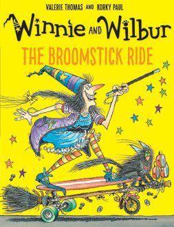 Winnie and Wilbur the Broomstick Ride
