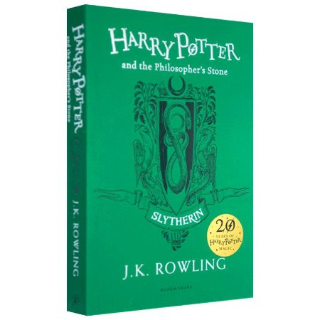 HARRY POTTER AND THE PHILOSOPHER'S STONE- SLYTHERIN EDITION