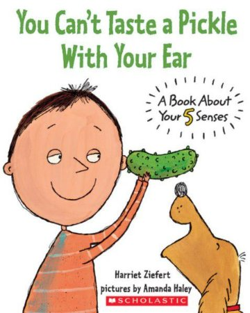 YOU CANT TASTE A PICKLE WTH YOUR EAR