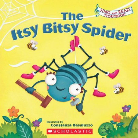 SING AND READ THE ITSY BITSY SPIDER