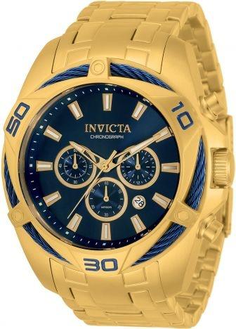 Relógio invicta Bolt 34120 Dourado Original