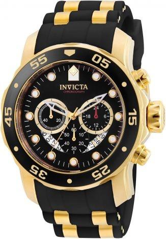 Relógio invicta Pro Diver 6981 Original Dourado