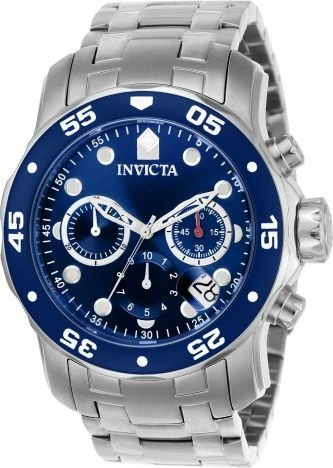 Relógio invicta Pro Diver 0070 Original Azul