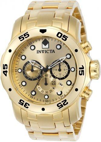 Relógio invicta Pro Diver 0074 Original Dourado
